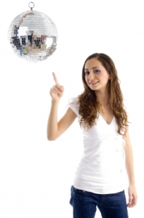 woman_pointing_at_disco_ball